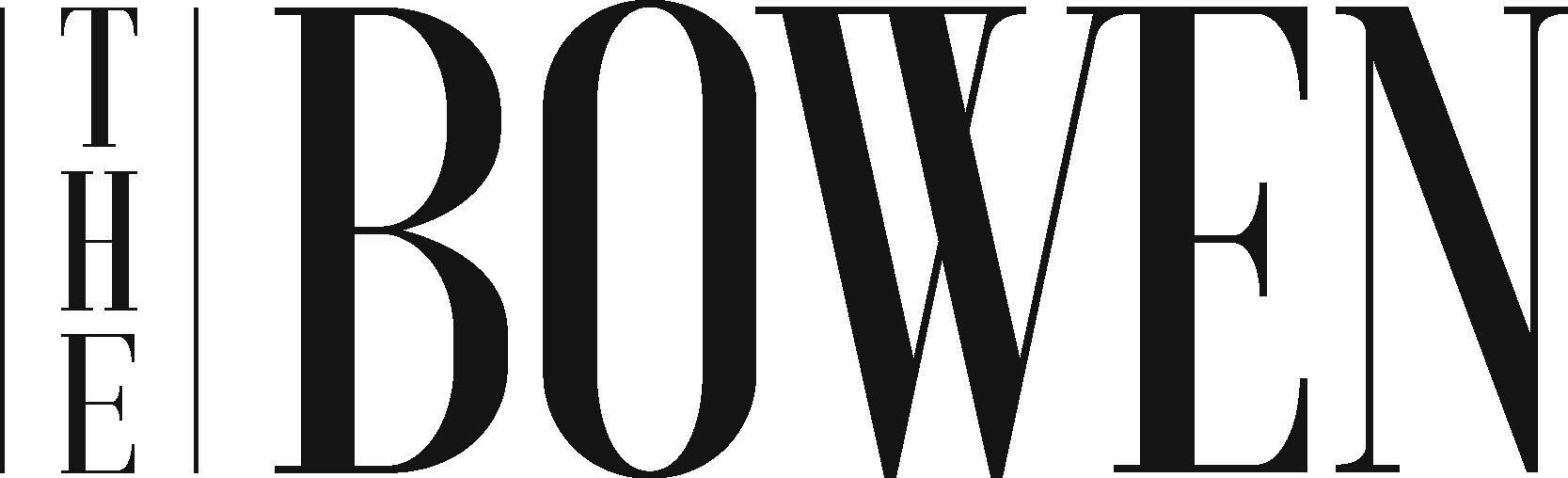The Bowen logo in black